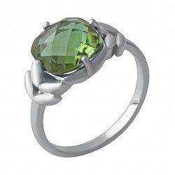 Серебряное кольцо с султанитом 000128470