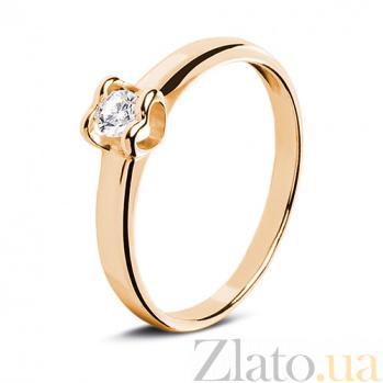 Кольцо в красном золоте Желание сердца с бриллиантом SVA--1190521201/Бриллиант