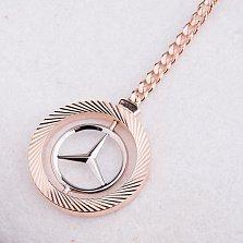 Золотой брелок Mercedes