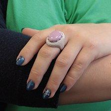 Серебряное кольцо Памир с фосфосидеритом