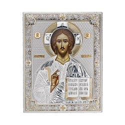 Икона с серебрением Иисус 000137863