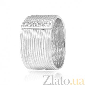 Серебряное кольцо с фианитами Лика 000028106