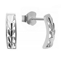 Сережки из серебра 000025016