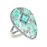 Серебряное кольцо Аида