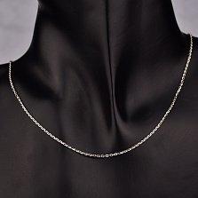 Серебряная цепочка Сунита в якорном плетении