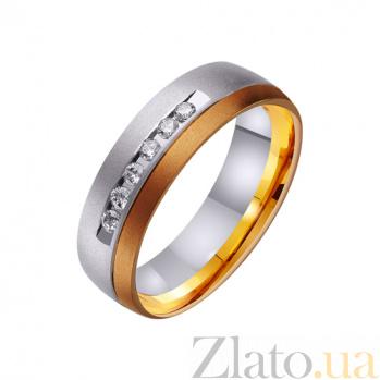 Золотое обручальное кольцо Магия моей нежности TRF--442486