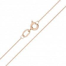 Золотая цепочка якорного плетения Легкий бриз, 0,6мм