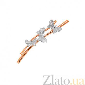 Брошь Бабочки на веточке VLT--ЕЕ434