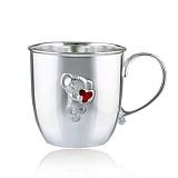 Серебряная чашка Маленькая мышка