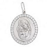 Серебряная ладанка Мария