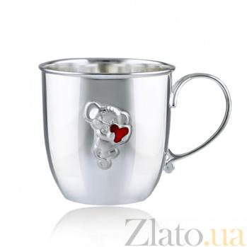 Серебряная чашка Маленькая мышка 2.8.0098