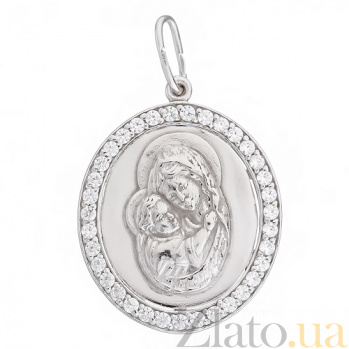 Серебряная ладанка Мария LEL--64014
