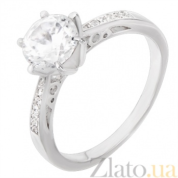Серебряное кольцо Симона 31125