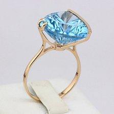 Золотое кольцо Токио с топазом