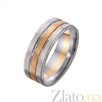 Золотое обручальное кольцо Нежность чувств TRF--4411062