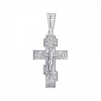 Крестик из серебра 000145992