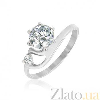 Кольцо из серебра с фианитами Шерил 000025777