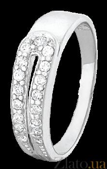 Серебряное кольцо с цирконием Вернал 000025811