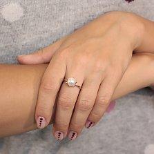 Золотое кольцо с жемчугом Юлия