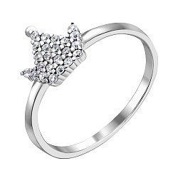 Серебряное кольцо с фианитами 000140026