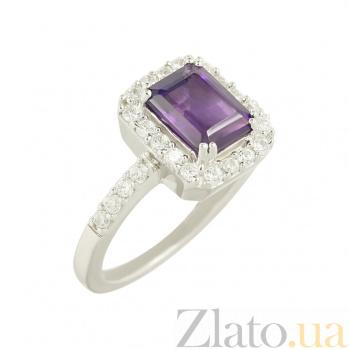 Серебряное кольцо с аметистом Дебби 3К846-0124