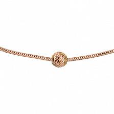 Золотой браслет на ногу Тонда
