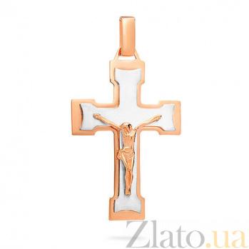 Золотой крестик Всемогущий SUF--501607кбм