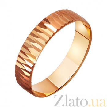 Золотое обручальное кольцо Влюбленный ангел TRF--411083