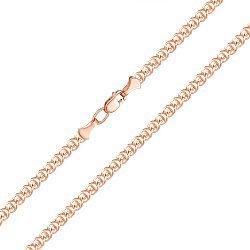 Цепочка из красного золота в плетении Лав 000135046