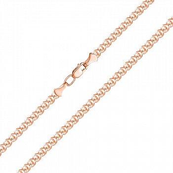 Ланцюжок з червоного золота в плетінні Лав 000135046