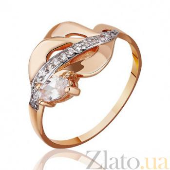 Кольцо в красном золоте Тиана с фианитами EDM--КД2004
