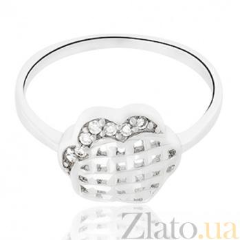 Кольцо из серебра Мадлен 10000124