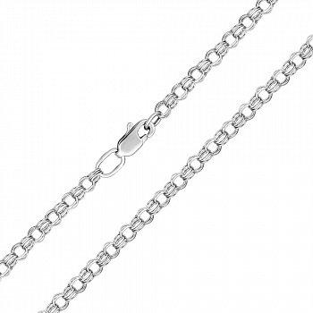 Серебряная цепь в плетении бисмарк, 3 мм 000118321