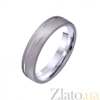Золотое обручальное кольцо Гармония любви TRF--421228*