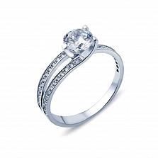 Серебряное кольцо с фианитами У побережья
