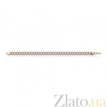 Браслет из золота Тонкая струна EDM--Б017-2