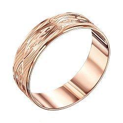 Обручальное кольцо из красного золота 000119339