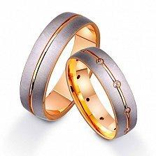 Золотое обручальное кольцо Легенда
