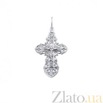 Серебряный крестик Сила любви AUR--74004/a