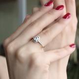 Золотое кольцо Кирина с бриллиантами