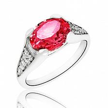 Серебряное кольцо с цирконием Селена