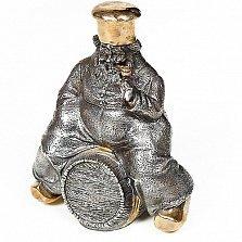 Серебряный графин с позолотой Повар