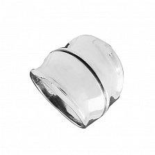 Серебряное кольцо Эделина с чернением