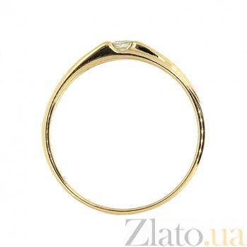 Кольцо из красного золота с бриллиантом Дарлин 000021471