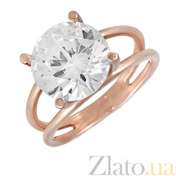 Золотое кольцо с фианитом Талиша ONX--к01538