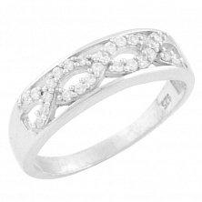 Серебряное кольцо Виржини с фианитами