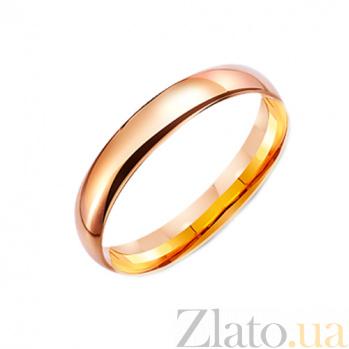 Золотое обручальное кольцо Моя душа TRF--4111022