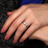 Кольцо из белого золота Loving Heart с бриллиантами