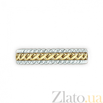 Золотое обручальное кольцо Центр вечных сил 000029715