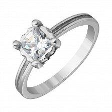 Серебряное кольцо Princess